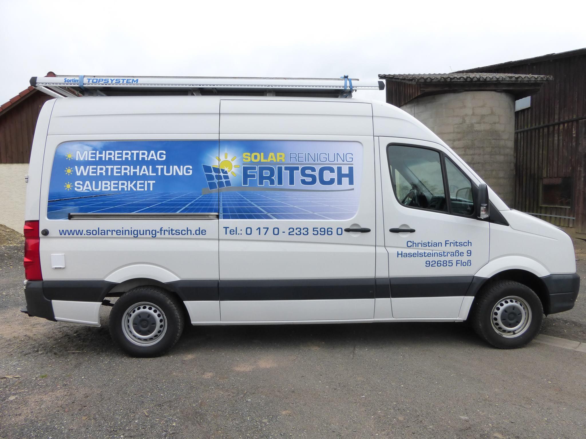 Solarreinigung mobil in der Oberpfalz